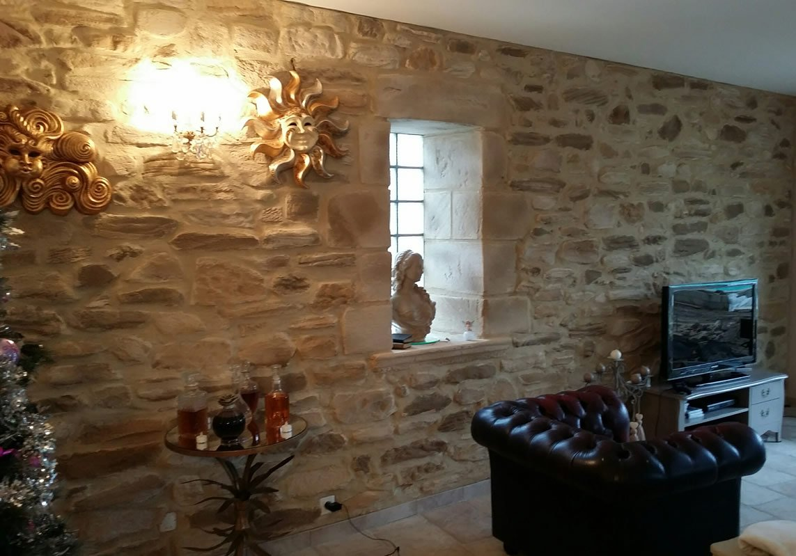 D coration pierres rejoint es int rieur m ga pierres - Decoration pierre interieur ...